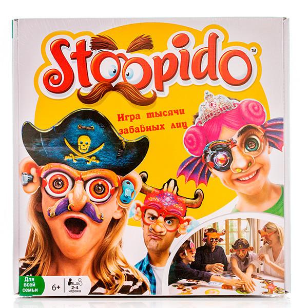 """Настольна игра """"Игра тысячи забавных лиц"""", Stoopido"""