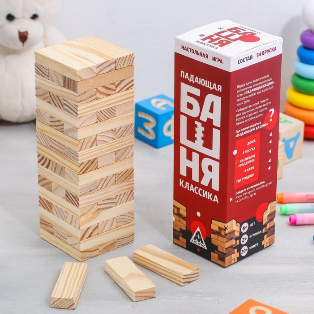 """Настольная игра """"Падающая башня: Классика"""""""