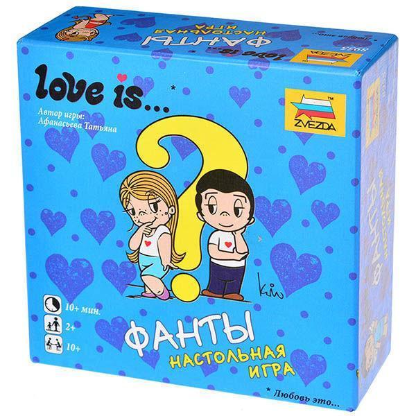 """Настольная игра """"Фанты: Love Is"""""""