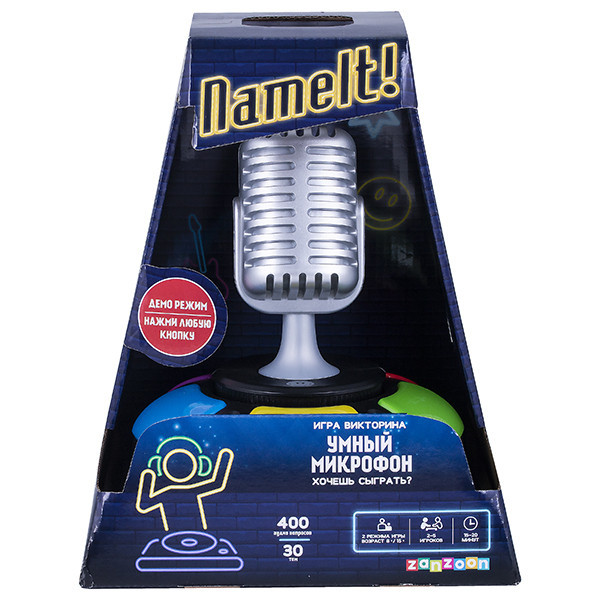 Настольная интерактивная Игра Викторина Умный микрофон