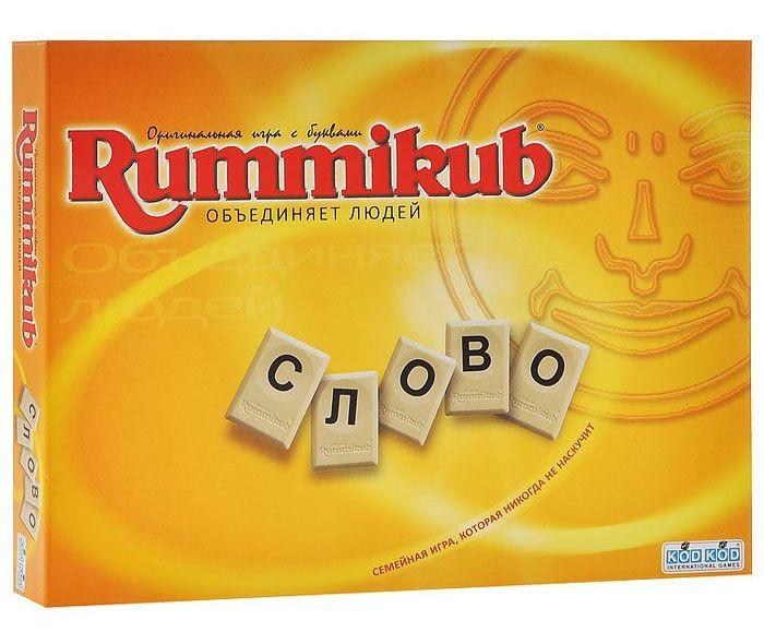 """Оригинальная игра с буквами Rummikub """"Слово"""""""