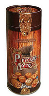 Русское лото, с деревянными бочонками