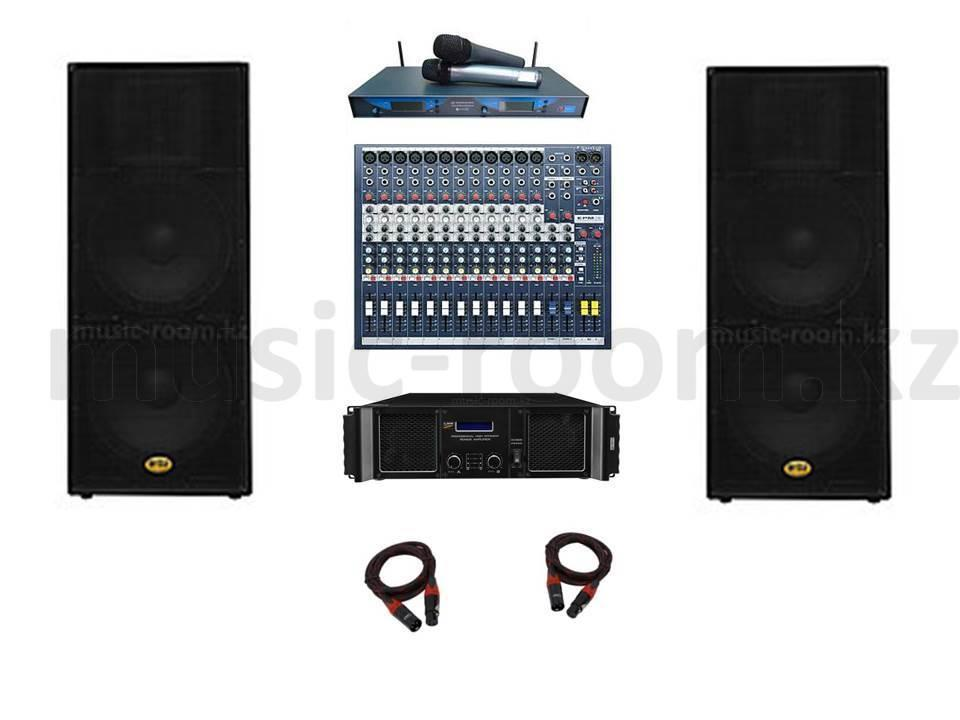 Комплект звуковой аппаратуры 6400 Ватт