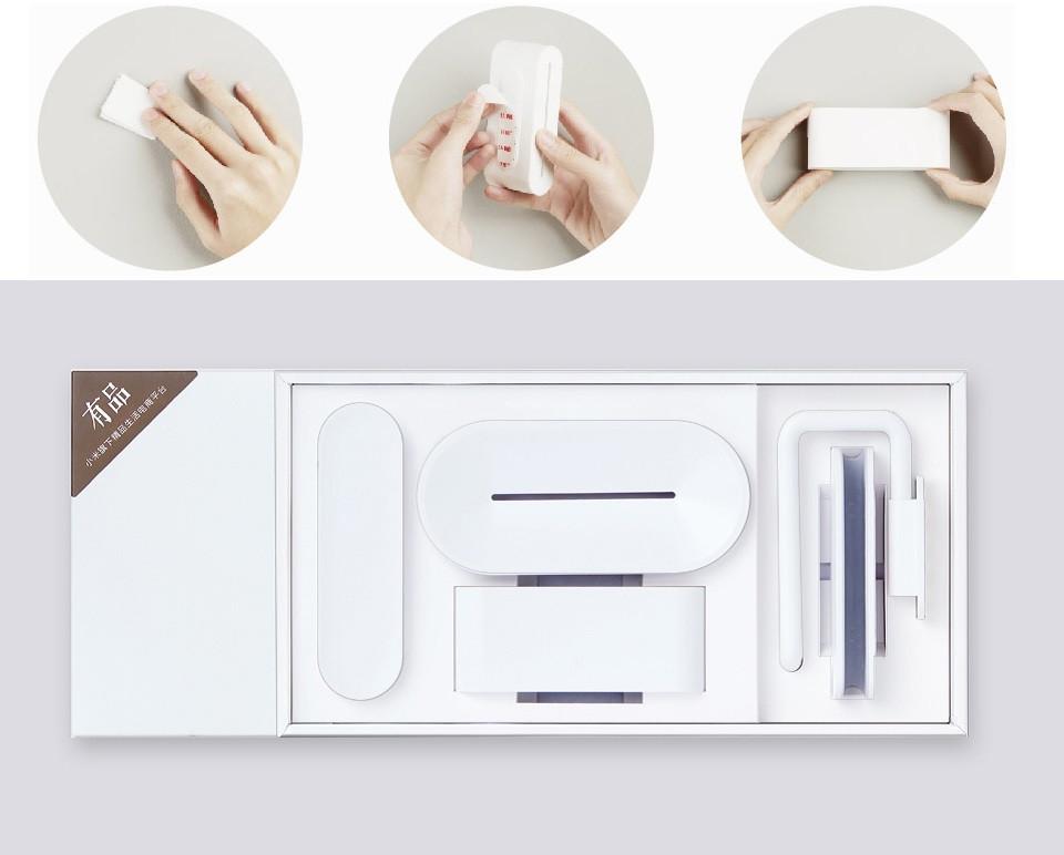Набор для ванной с крючками Xiaomi HL Bathroom Set Series Combination