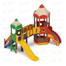 Уличные детские комплексы