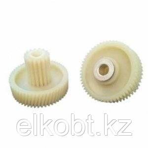 Шестерня c металлической вставкой для мясорубки Д-45/17мм, зубья 54/16шт. (Косой/прямой)