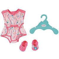 """Бэби Борн набор одежды """"Пижамка с обувью"""" для куклы 43 см"""