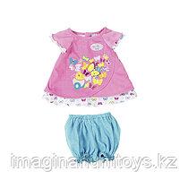 Zapf Creation одежда для кукол Беби Бон 43 см туника с шортиками