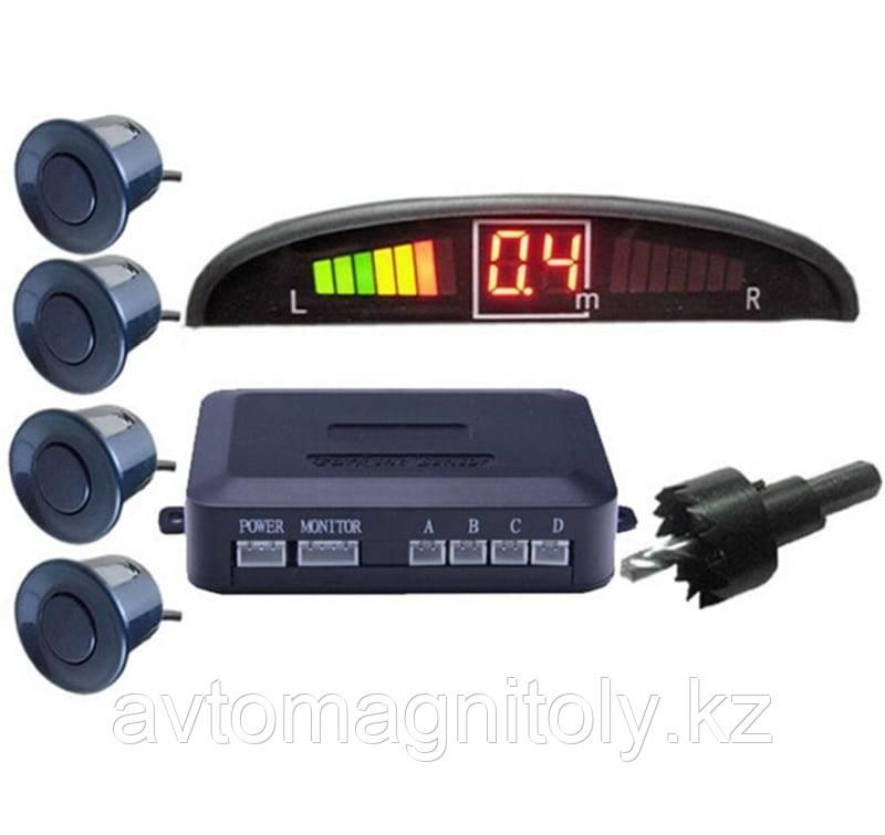 Парктроник Magicar 4 датчика(серебристые)