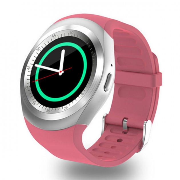 Сенсорные умные часы-телефон Smart-Watch Y1