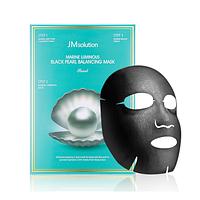 Трёхступенчатая маска для сияния кожи JMsolution Marine Luminous Black Pearl Balancing Mask (штучно)