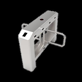 Распашной турникет-калитка с двумя линиями движения SBT3200S без контроллера и считывателей