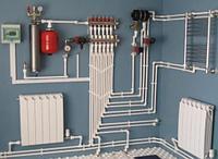 Монтаж системы отопление в Алматы