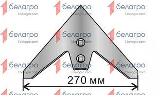 Лапа КРН / КПС-4 (270мм) неокрашенная
