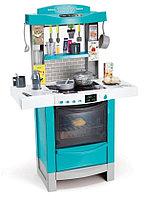 Интерактивная кухня Smoby CookTronic (кипение, свет, звук) голубой, фото 1
