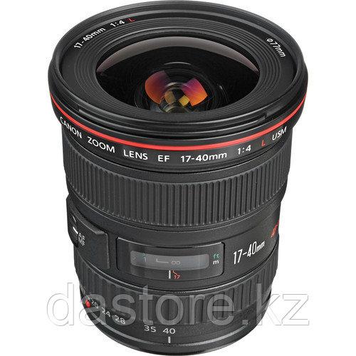 Canon EF 17-40mm f/4L USM Сверхширокий зум-объектив - черный