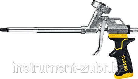 """Пистолет для монтажной пены """"HERCULES"""", металлический корпус, регулировка подачи пены, STAYER, фото 2"""