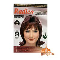 Бургунди хна для волос Радико (Radico), 6 пакетиков по 7 гр