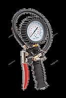 NORDBERG ПИСТОЛЕТ Ti6 для подкачки колес с манометром 80 мм, для легковых авто