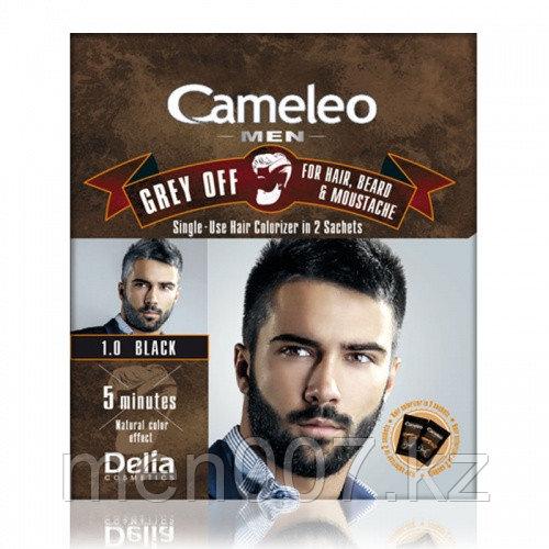 Cameleo Grey Off  (Краска для волос, усов и бороды) Чёрный