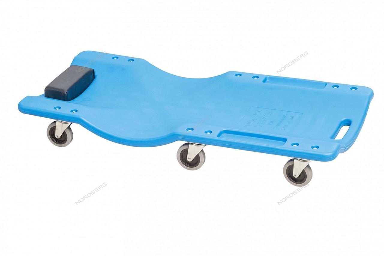 Лежак подкатной пластиковый N30C5