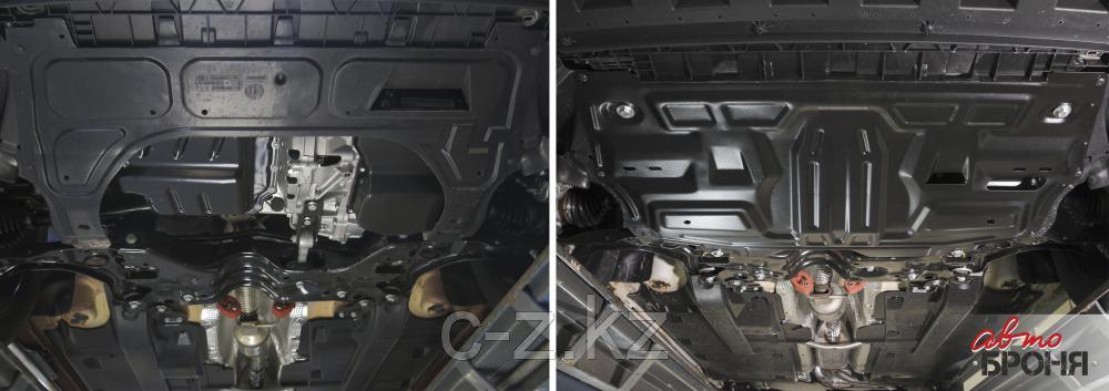 Защита картера + КПП Hyundai Creta 2016-, V - 1.6; 2.0; Усиленная, фото 2