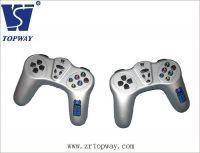 Джойстик игровой для ПК TopWay USB 2 в 1 проводной, серый
