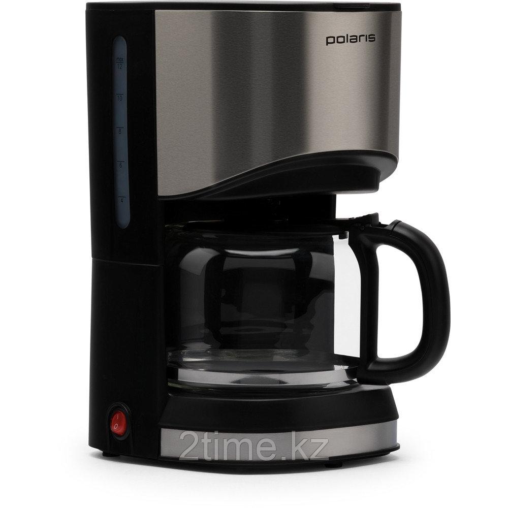Кофеварка Polaris PCM 1215A (нержавеющая сталь/черный)