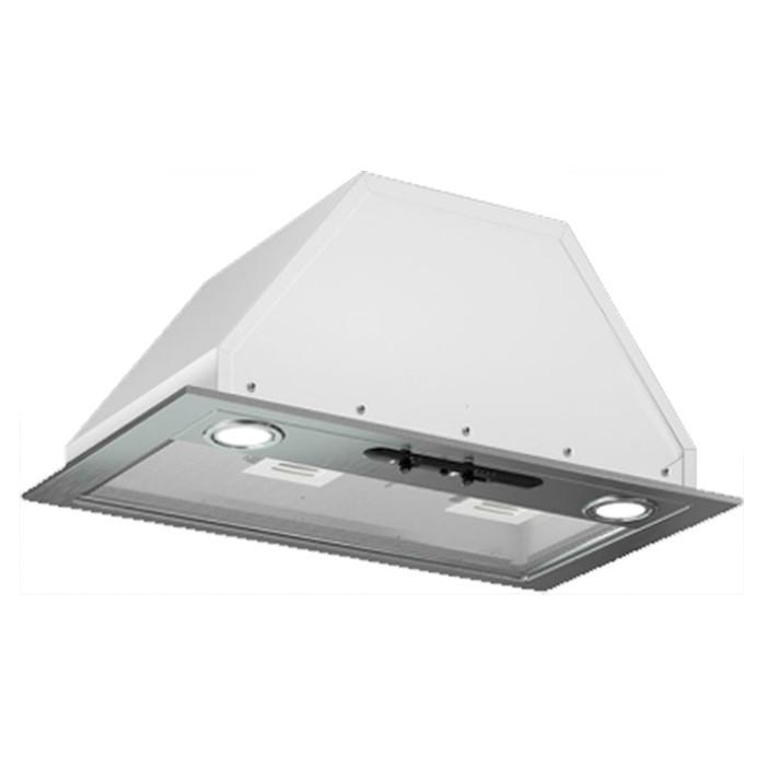 Вытяжка кухонная Врезной блок Flat 72П-650-КЗД (белый)