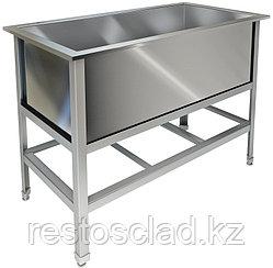 Ванна котломоечная односекционная ТЕХНО-ТТ ВМ-11/900 краш