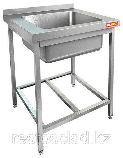 Ванна моечная односекционная HICOLD НСО1М-6/6БР ЭН нерж