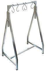 Стеллаж сварной для подвешивания мяса ТЕХНО-ТТ СТС-931 (вешало) треугольной формы