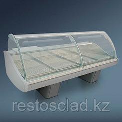 Витрина холодильная угловая 90° «Диона» ВС-21 УВ вентилируемая