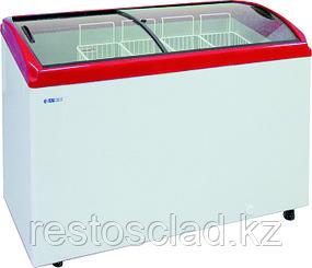 Ларь морозильный ITALFROST CF 300C красный