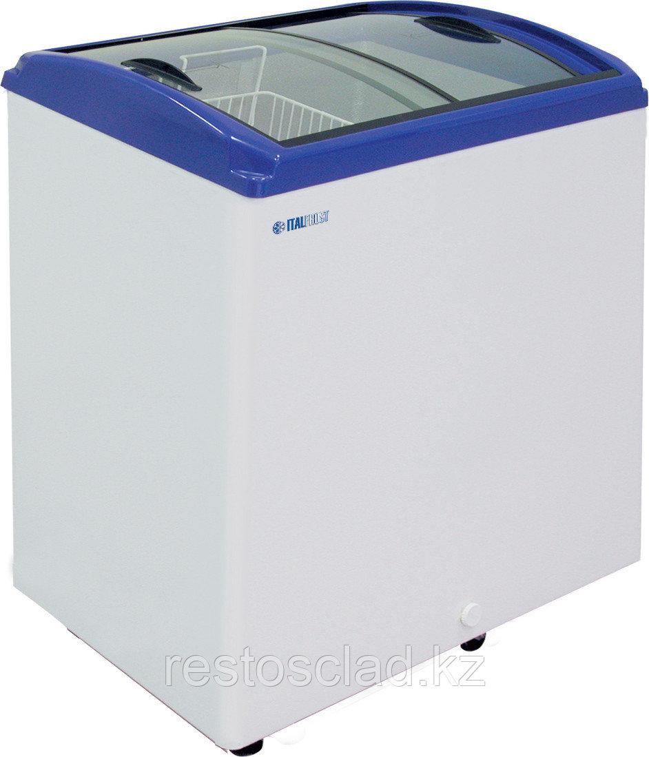 Ларь морозильный ITALFROST CF 200C синий