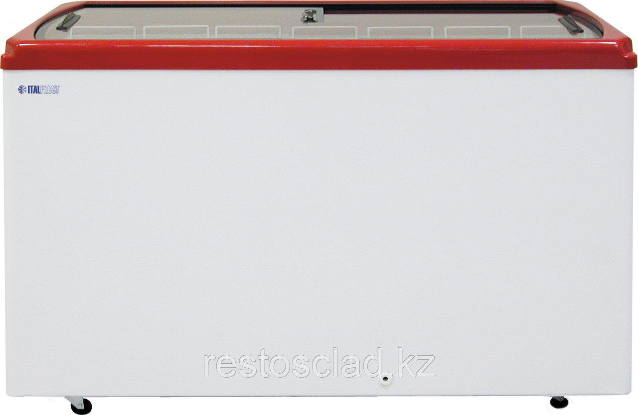 Ларь морозильный ITALFROST CF 600F красный