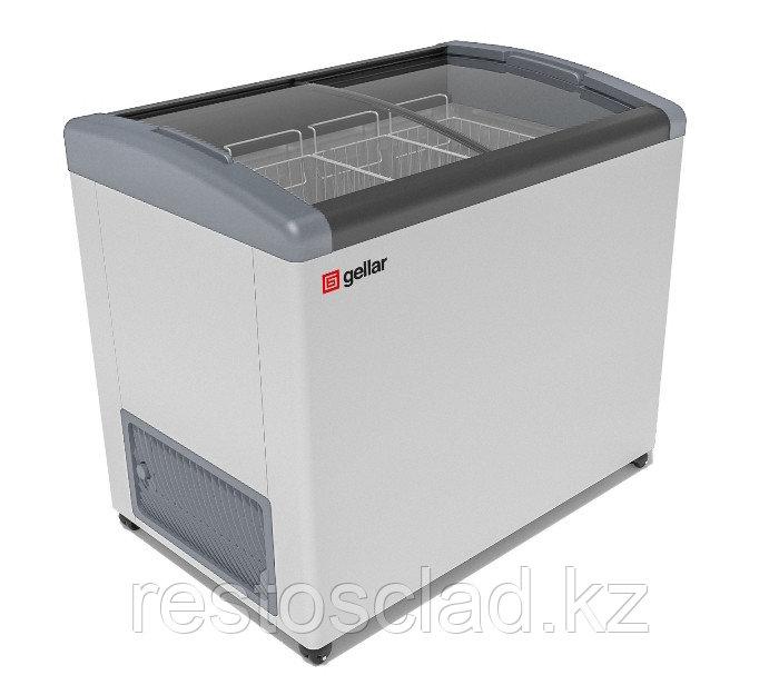 Ларь морозильный GELLAR FG 375 E серый
