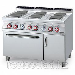 Плита электрическая LOTUS CFQ6-712ETV шестиконфорочная, с жарочным и нейтральным шкафом (серия 70)