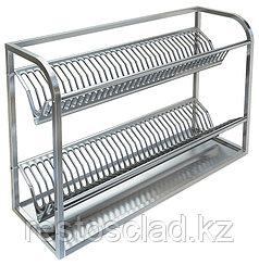 Полка настенная для сушки посуды ТЕХНО-ТТ ПН-329/900 (на 70 тарелок)