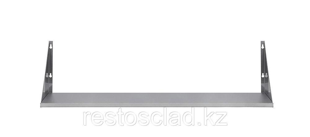 Полка настенная сплошная Luxstahl ПНК12/4