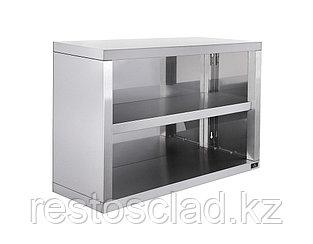 Полка-шкаф настенная Luxstahl ПНШО-900 открытая