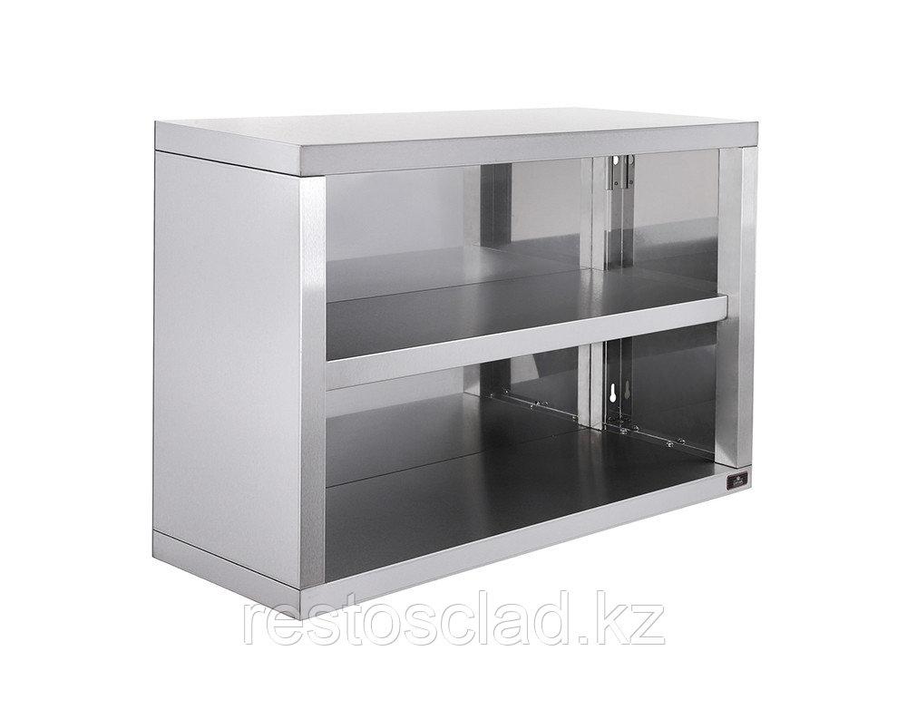Полка-шкаф настенная Luxstahl ПНШО-600 открытая