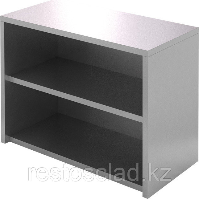 Полка-шкаф настенная открытая CRYSPI ПКПО 1000/400 (без дверей)