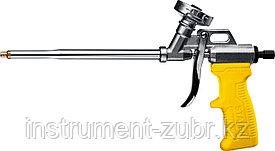 """Пистолет для монтажной пены """"MASTER"""", металлический корпус, регулировка подачи пены, STAYER"""