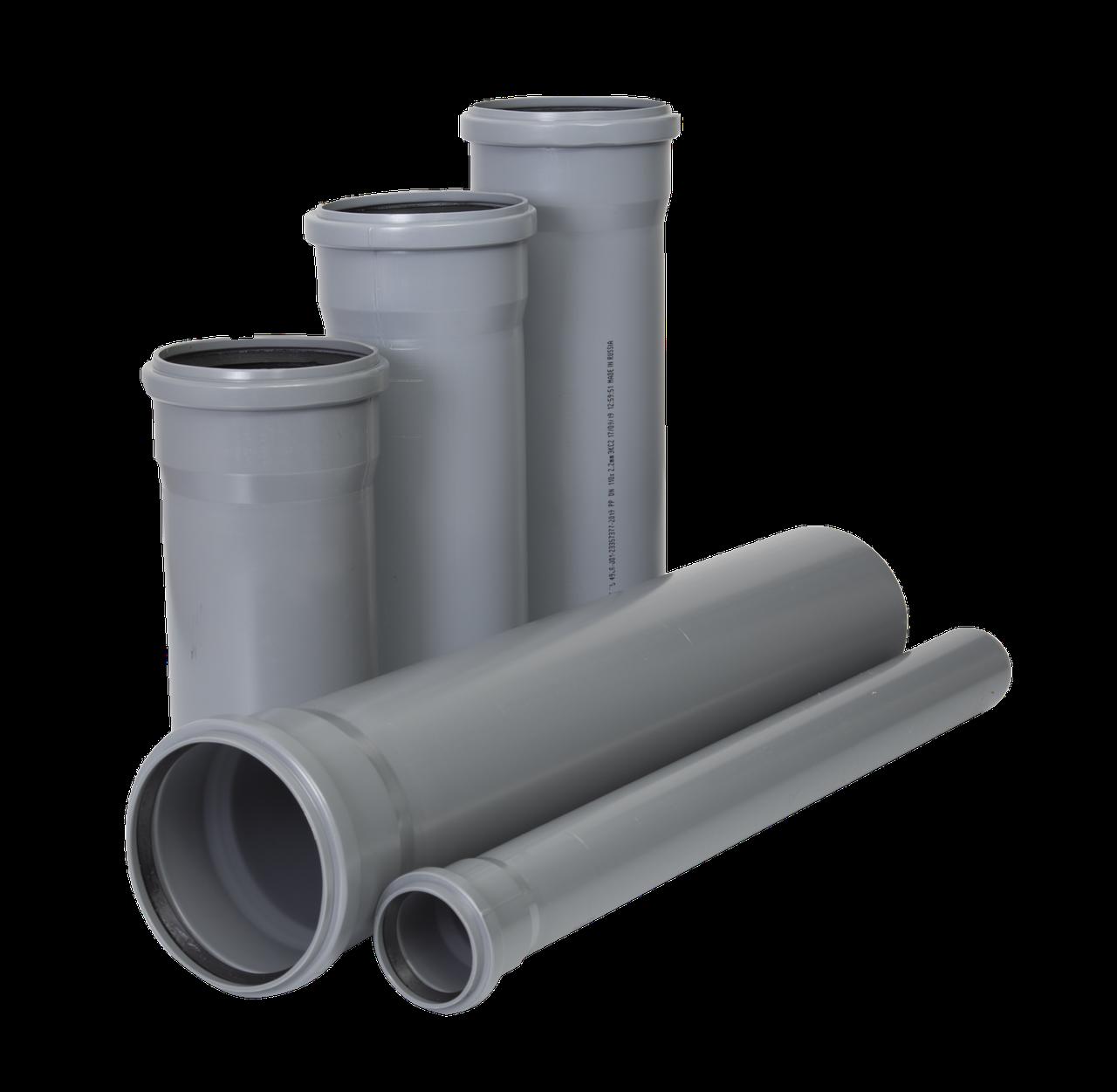 Труба канализационная ПВХ 3,2 мм - 4 мм