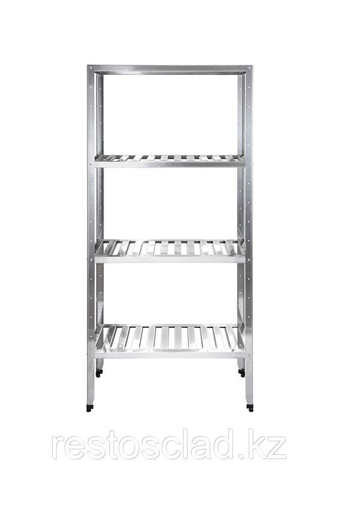 Стеллаж кухонный с решетчатыми полками Luxstahl СРРП-1800*1800*400