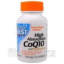 Коэнзим Q10 100 мг с биоперином 120 капсул