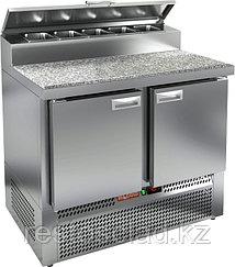 Стол охлаждаемый для пиццы HICOLD PZE2-11/GN (1/6) с гранитной столешницей