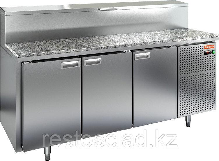 Стол охлаждаемый для пиццы HICOLD PZ2-111/GN (1/6H) с гранитной столешницей