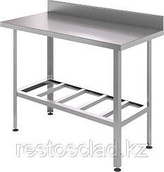 Стол производственный пристенный CRYSRI СРП 1500/600/СРПЦ Э оц